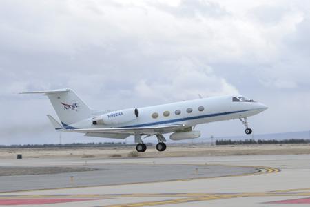 Track NASA G-III - UAVSAR