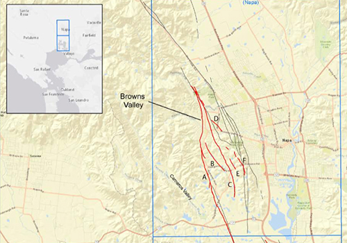 New Maps Show Fault Line At Site Of 2014 Napa Earthquake