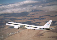DC-8 airplane